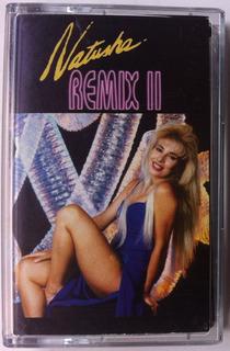 Natusha. Remix I I. Cassette Original, Nuevo