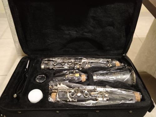 Imagem 1 de 5 de Clarinete Novo Jahnke Sib 17 Chaves - Instrumento Novo -