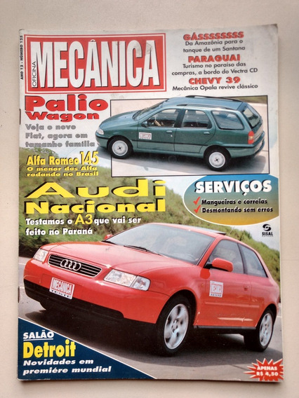 Revista Oficina Mecânica 125 Palio Wagon Audi Opala 104