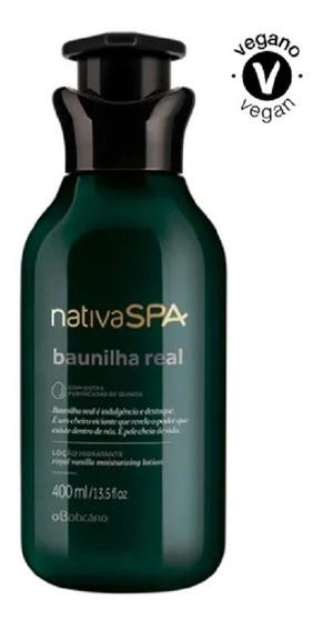 Nativa Spa Baunilha Real Hidratante Corporal 400ml