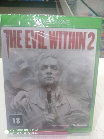 Jogo The Evill Within 2 Xbox One Mídia Física Novo Lacrado