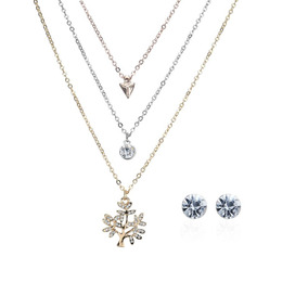 1c87c415c737 3 Unids / Set Mujeres Niñas Collar Elegante Perla Joyas Per