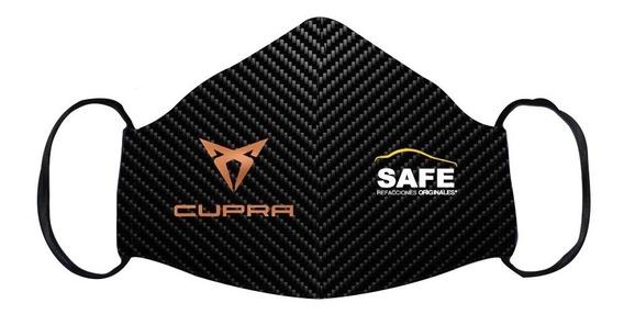 Cubre Boca Cupra Fibra Carbono Edición Safe Refacciones
