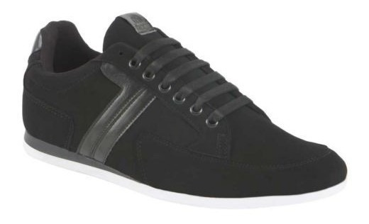 Tenis Casual Negro Liso Evocative Mirage 1262 Urb 821774