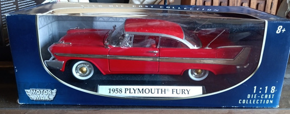 Plymouth Fury 1958 Christine , Escala 1/18, Motormax,