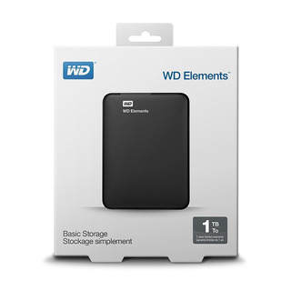 Hd 1 Tb Externo Usb 3,0 Wd Elements Basic Storage