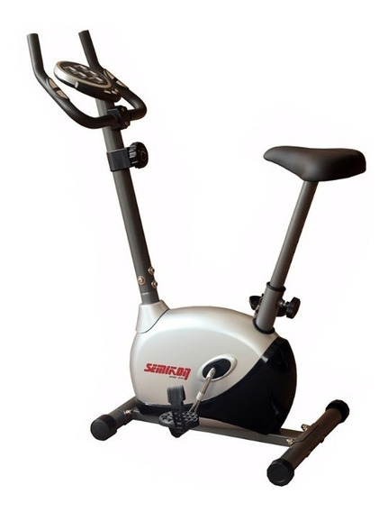 Bicicleta Fija Residencial Magnética Semikón Te2455 Cn Envío