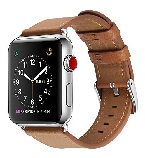 Para Apple Watch Band Covery 38mm Iwatch Band Correa De Cuer