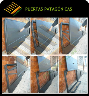 Puerta Patagonica - Cerramiento Para Parrillas