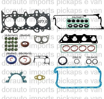 Jg Junta Motor Completo C/ret Civic 1.7