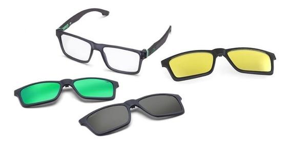 Oculos Grau Mormaii Swap M6057d6356 Fumê Clip On Polarizado