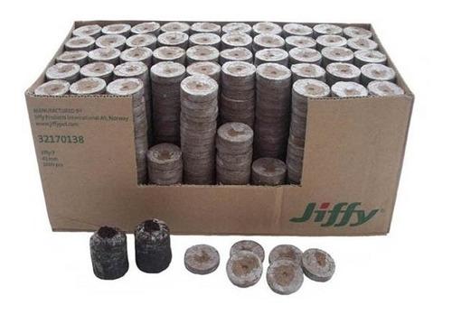 Imagen 1 de 3 de Jiffy 42x42 Mm Caja 1000 Unidades - Uruweed Growshop