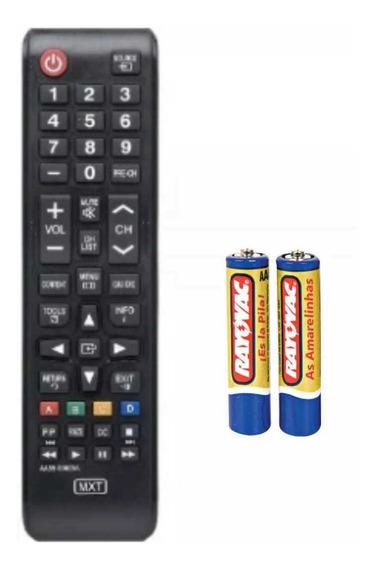 Controle Televisão Smart Samsung Com Pilhas Ofertas 20%off