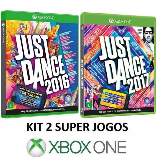 Just Dance 2017 + 2016 - Midia Fisica Lacrado - Xbox One