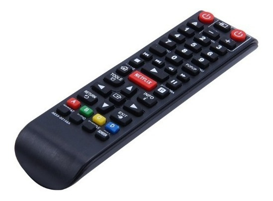 Controle Remoto Dvd Blu-ray Samsung Com Tecla Netflix