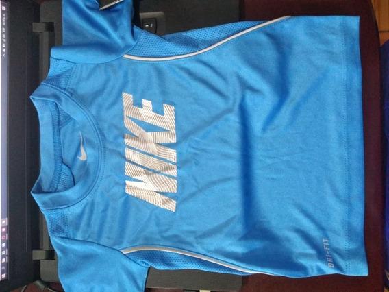 Playera Nike Bebes Kids 66a725 Dri 12-24m Oferta Original