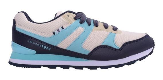 Zapatillas Topper Tilly Vde/azul - Corner Deportes