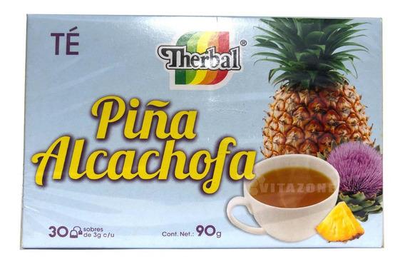 Té De Piña Alcachofa 30 Sobres Therbal