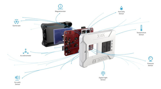 Kit De Desarrollo Programable Multisensor Bosch Xdk