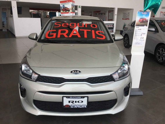 Kia Kia Rio Sedan 2020 4 Pts. L, 1.6 L Mpi Tm6, A/ac, Ve De