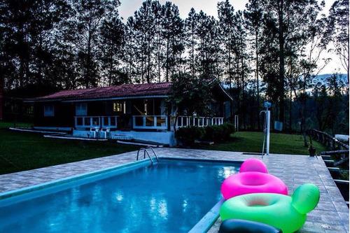 Juquitiba/bela Chácara C/piscina/ac/auto/imóvel/ref:05047