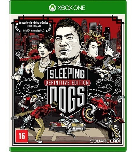 Jogo Xbox One Sleeping Dogs - Definitive Edition - Lacrado