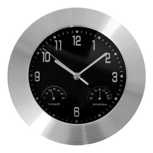 Reloj Pared Moderno Grande Metálico Aluminio R89