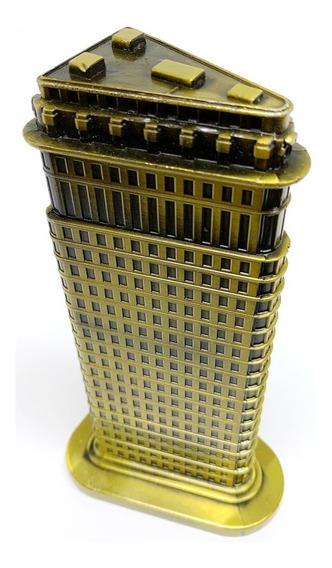 Flatiron Building Miniatura Decor Metal Arranha Céu New York