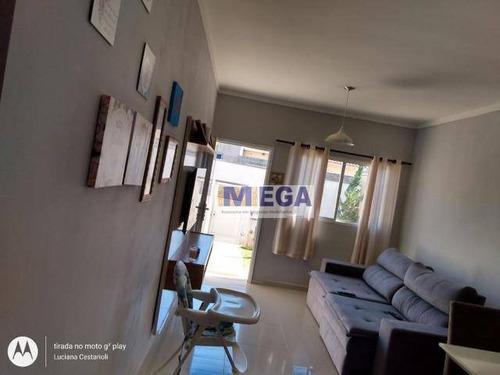 Imagem 1 de 24 de Casa Com 3 Dormitórios À Venda, 100 M² Por R$ 359.990,00 - Saltinho - Paulínia/sp - Ca2031