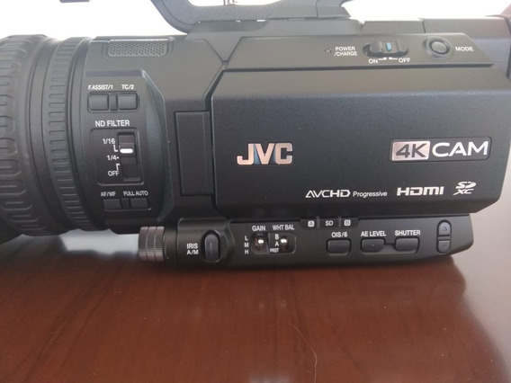 Filmadora Jvc Gy Hm180 Ultra Hd 4k Camcorder Live