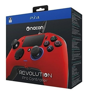 Nacon Revolution Pro Controller Gamepad Red Edition Ps4 Play