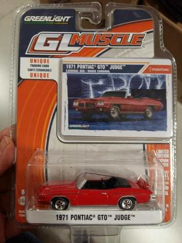 Greenlight - Gl Muscle - 1971 Pontiac Gto Judge - 1:64