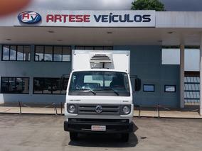 Volkswagen 8.160 Delivery Baú De Fibra Refrigerado, 2017/18