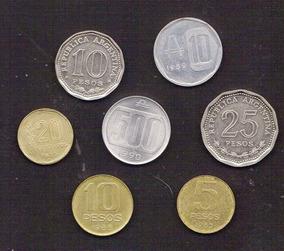 Argentina 7 Dif 1966-1990 Oferta ( M 55 ) Imperdible Vea