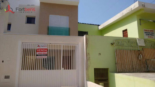 Sobrado Com 3 Dormitórios À Venda, 150 M² Por R$ 550.000,00 - Serpa - Caieiras/sp - So0492