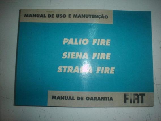 Manual Fiat Palio Siena Strada 2008 Fire 1.0 1.4 8v Flex