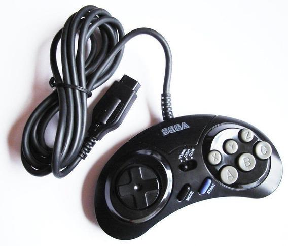 Controle Importado Mega Drive Com Turbo Kit Com Duas Peças