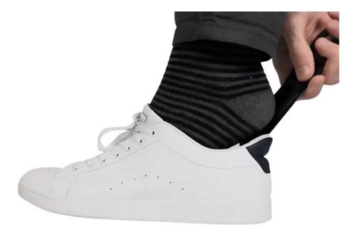 Imagem 1 de 4 de Calçadeira Ajuda A Calçar Vestir Sapatos Social Scarpin