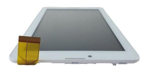 Painel Lcd Touch Tablet Semp Toshiba Ta0709g Branco