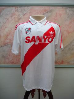 Camisa Futebol River Plate Argentina adidas Antiga 821