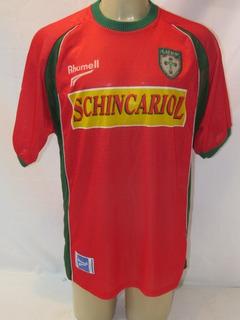 Camisa Futebol Portuguesa Lusa De Jogo Rhumell #27 2002 Vc1