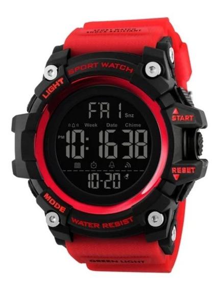 Relógio Skmei 1384 Prova D Água Masculino Digital 100% Luxo
