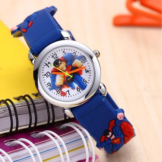 Relógio Infantil Superman Para Meninos