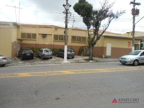Imagem 1 de 4 de Galpão, 3100 M² - Venda Por R$ 7.500.000,00 Ou Aluguel Por R$ 35.000,00/mês - Vila Jordanópolis - São Bernardo Do Campo/sp - Ga0323