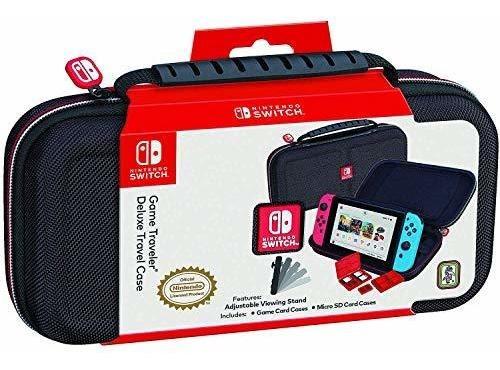 Funda De Viaje Deluxe Nintendo Switch - Estuche Duro Premium