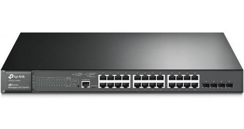 Switch Administrable L2 De 24-purt De 10/100mbps + 4sfp