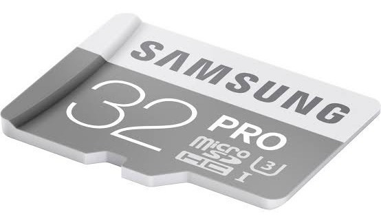 Microsdhc 32 Pro Samsung + Sd Adapter For Micro Sd