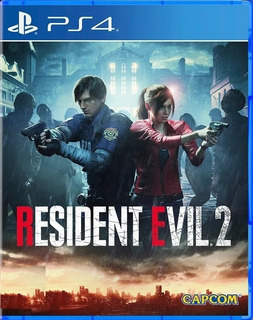 Resident Evil 2 Remake Ps4 Fisico Juego Playstation 4