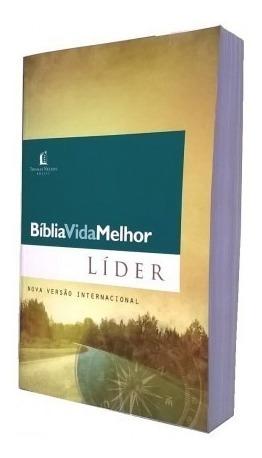 Bíblia Vida Melhor - Líder - Nvi