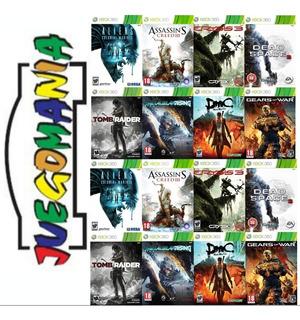 Juegos Xbox 360 Lt 3.0, Rgh Y 5.0 Disco Usb Amplio Catálogo